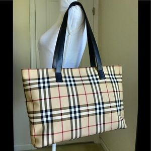 Euc Burberry large tote